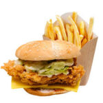 Zinger Burger With Chips